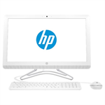 "Моноблок HP 24-f0187ur NT 23,8"" (1920x1080) Intel Core i3-9100T, 4GB DDR4-2400 SODIMM (1x4GB), 1TB, Intel HD Graphics 630, noDVD, USB kbd&mouse, Privacy VGA webcam, Snow White, Win10, 1Y Wty"
