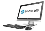 "Моноблок HP EliteOne 800 G2 All-in-One 23""(1920 x 1080) NT Core i3-6100,4GB DDR4 (1x4GB),500GB 7200 RPM,DVD-RW,USB kbd/mouse,Recline Stand,BCM 802.11n BT,FreeDos, 3-3-3 Wty"