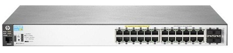 "Коммутатор HPE Aruba 2530 24G PoE+ Switch (24 x 10/100/1000 + 4 x SFP, Managed, L2, virtual stacking, PoE+ 195W, 19"")"