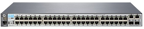 "Коммутатор HPE Aruba 2530 48 Switch (48 x 10/100 + 2 x SFP + 2 x 10/100/1000, Managed, L2, virtual stacking, 19"")"