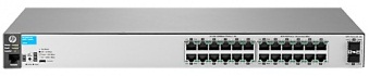"Коммутатор HPE Aruba 2530 24G 2SFP+ Switch (24 x 10/100/1000 + 2 x SFP+, Managed, L2, virtual stacking, 19"")"